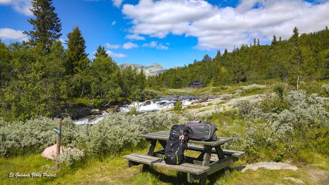 Paisaje en la Ruta Brudesloret, Rondane - Noruega, por El Guisante Verde Project