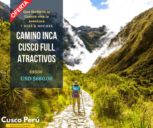 Tour Camino Inca + Montaña 7 Colores
