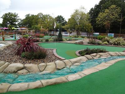 Adventure Golf at the Four Ashes Golf Centre in Dorridge
