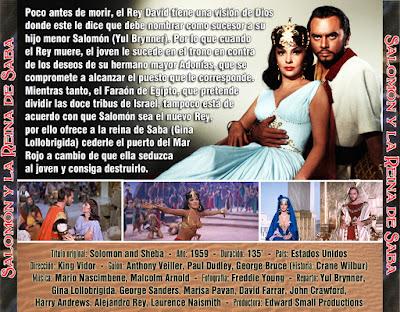 Salomón y la Reina de Saba - [1959]