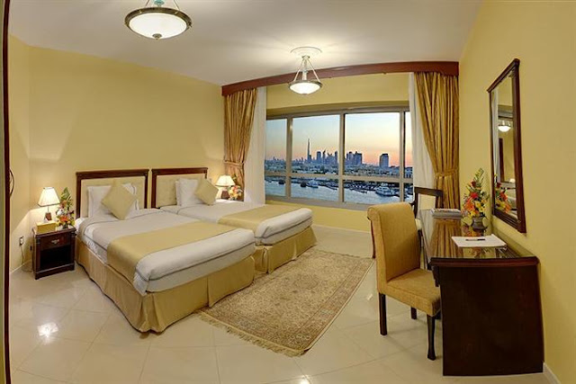 Deira Suites Hotel Apartment is located at the heart of central Dubai. Overlooking the scenic Dubai Creek and its close proximity to the city's commercial hub, Government departments and shopping areas – makes Deira Suites an ideal choice for vacation makers and business travelers alike.