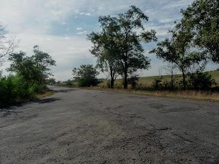 Клебан-Бик. Дорога на Щербинівку