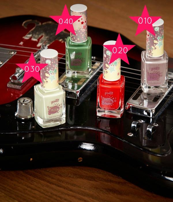 p2 Let's Rock! feel the beat nail polish