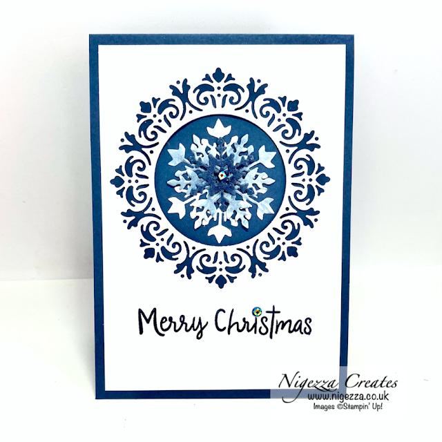 Christmas In July! Snowflake Card