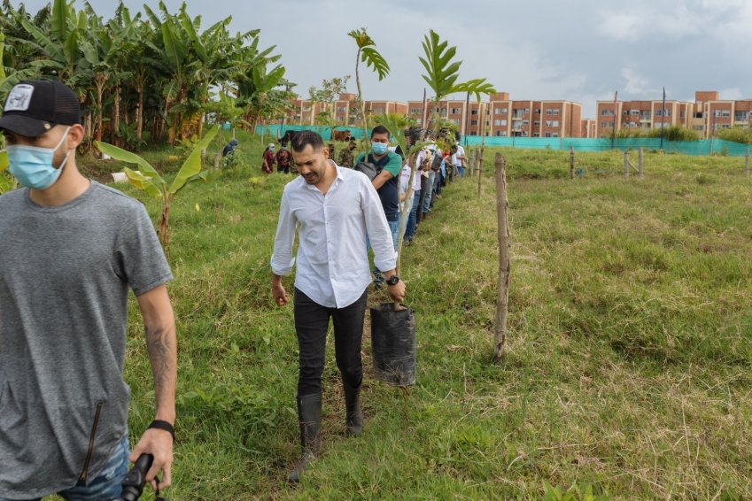 Se reinicia la construcción del pulmón ecológico para Pereira