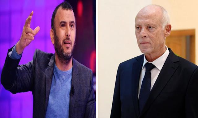 العبدلي: جمعني إتصال هاتفي ''ممتع'' بقيس سعيّد (فيديو)