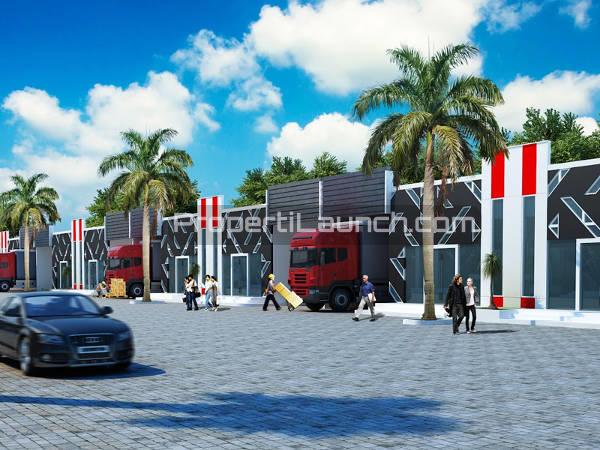 Gudang Warehouse Pintar Olympic Development Di Sentul