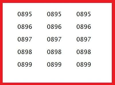 Agen Pulsa atau distributor pulsa ataupun counter jual pulsa memang sudah seharusnya meng Nomor awalan 0895 0896 0897 0898 0899 kartu Operator Apa