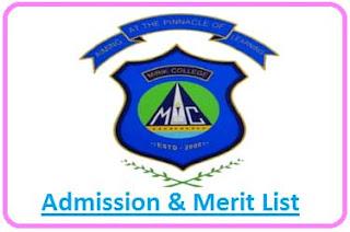 Mirik Degree College Merit List