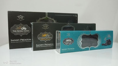 3 pilihan kotak Kurma Safi Premium