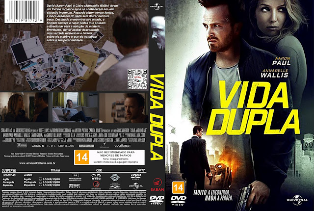 Capa DVD Vida Dupla [Exclusiva]