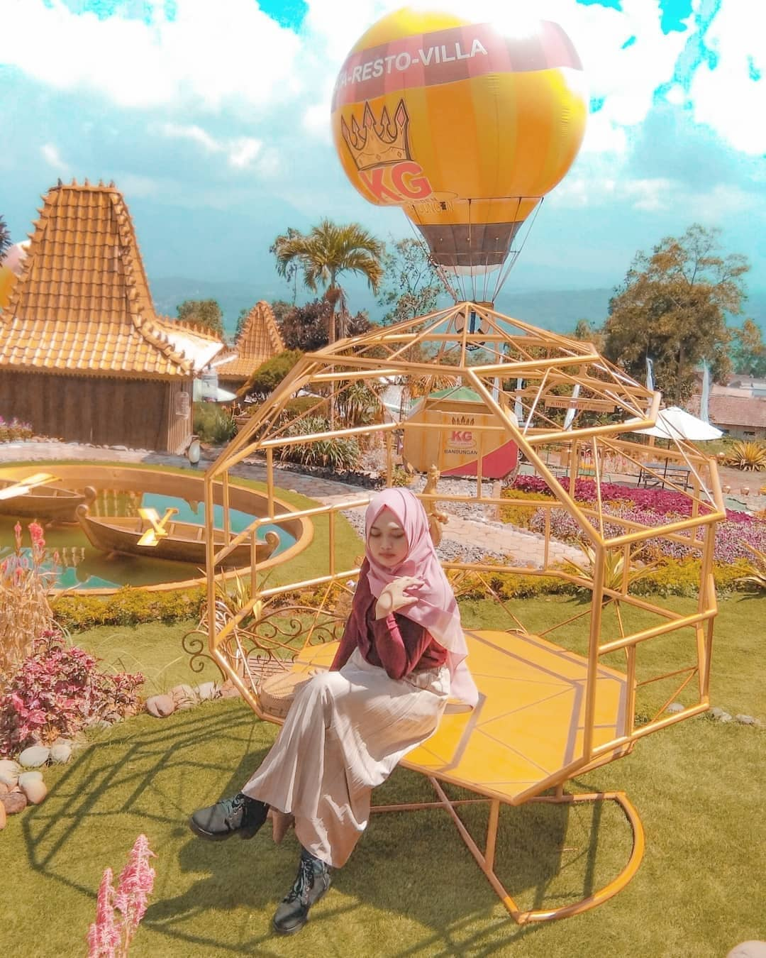 Tiket Masuk Dan Lokasi Wisata Baru King Garden Bandungan