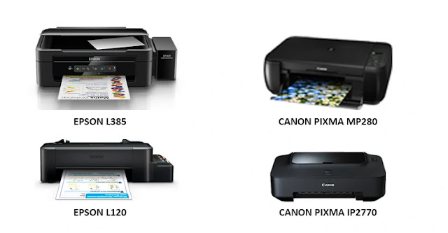 Jenis jenis Printer Dan Cara Kerja