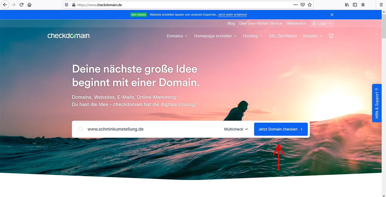 Auf Domain umziehen bei gleichbleibendem Blogger-Host