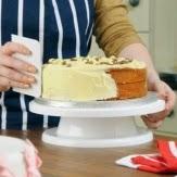 plato giratorio para decorar de tartas