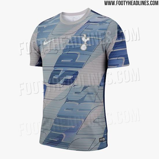 2a4073684 Insane Nike Tottenham Hotspur 19-20 Pre-Match Shirt Leaked - Footy ...
