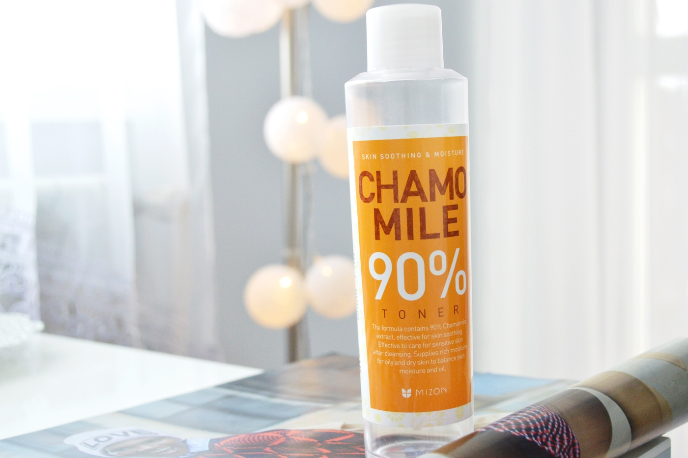 toner chamomile mizon blog tonik