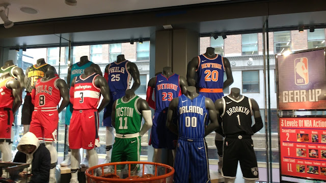 Cardboard History   Madame Tussauds and the NBA Store a305bd1eb
