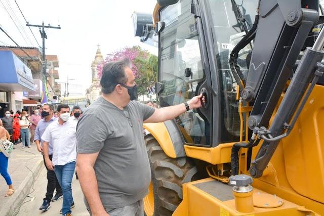 Oito vereadores de Chã Grande pedem caminhões caçambas ao deputado Sebastião Oliveira