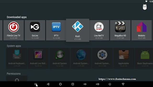 kodi for android tv