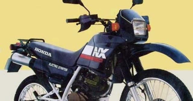 NX - Garagem do colecionador: Honda NX650 Dominator 1992