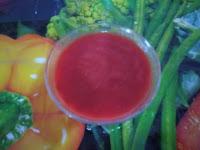 طربقة عمل صلصة طماطم بالفلفل الحلو
