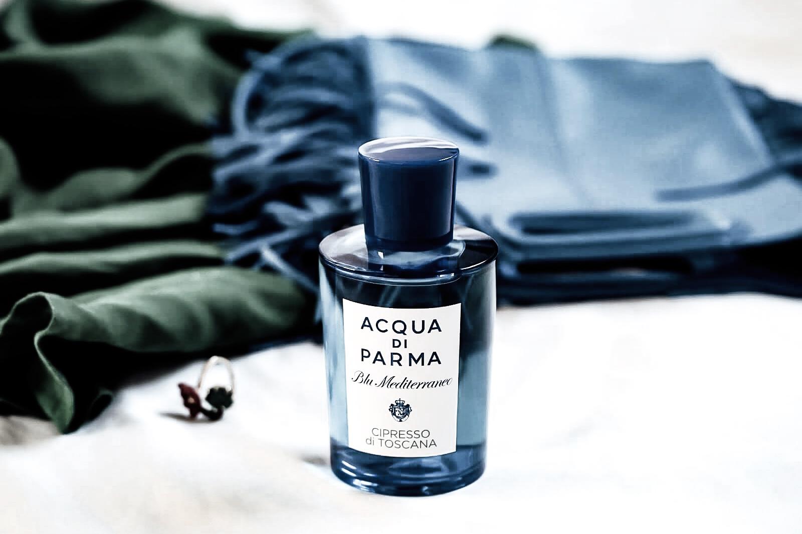 acqua di parma blu mediterraneo cipresso di toscana parfum avis test