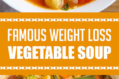 Famous Instant Pot Weight Loss Soup