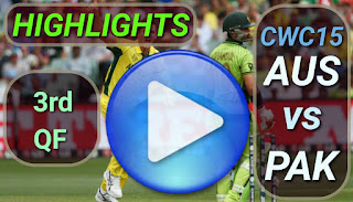AUS vs PAK 3rd QF Match