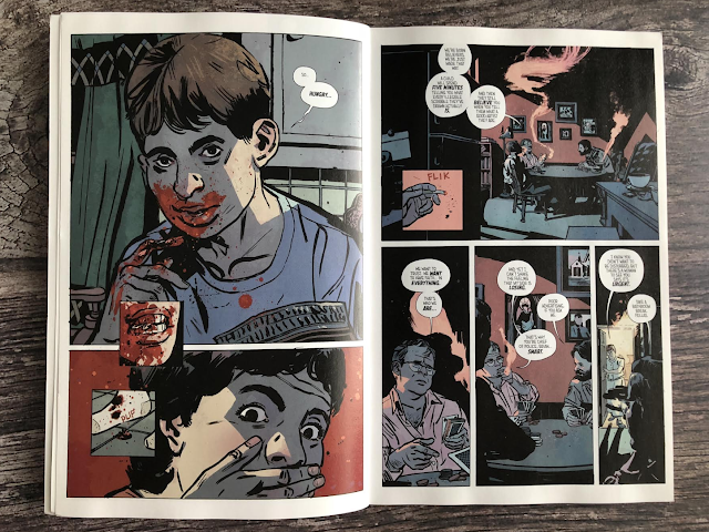 a page from outcast volume one