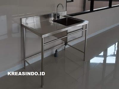Jual Sink Stainless Custom Harga Murah di Jabodetabek