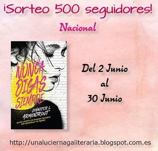 https://unaluciernagaliteraria.blogspot.com.es/2017/06/sorteo-500-seguidores.html?showComment=1498757813650#c4261901361809955295
