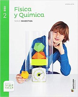 Libro Física y Química 2º ESO Santillana Proyecto Saber Hacer Serie Investiga