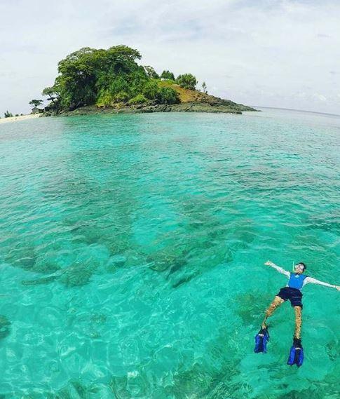 Surga Pulau Pamalikan di Kalimantan Selatan