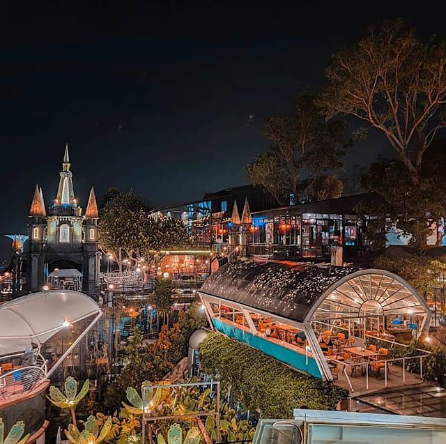 Alamat Cakrawala Sparkling Nature Restaurant