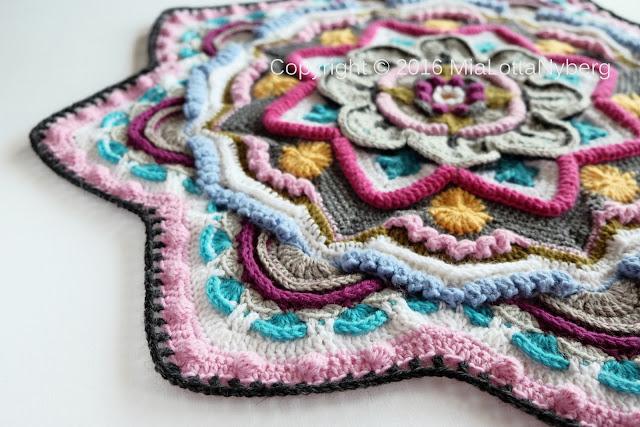 Mandala madness CAL 2016 part 6 crochet