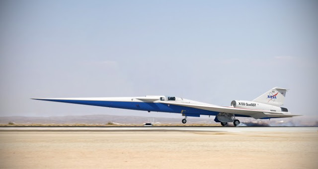 x-59 avion supersonic NASA