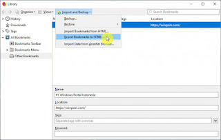 Cara Import Data dari Mozilla Firefox ke Microsoft Edge Chromium