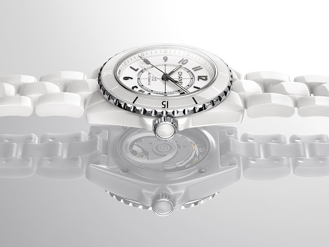Chanel J12 Watch White