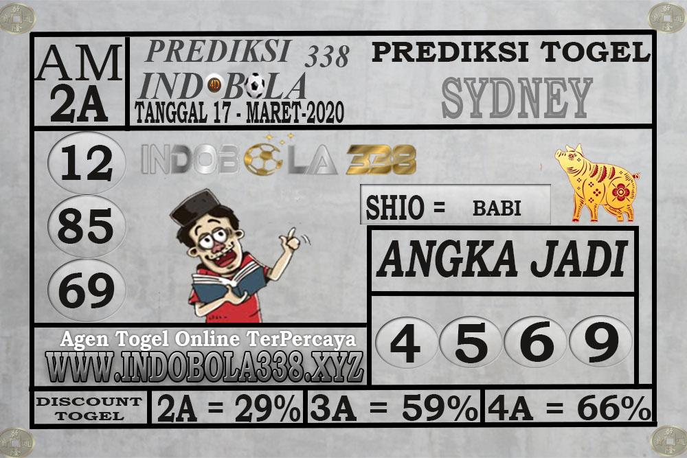 Prediksi Togel Sidney Selasa 17 Maret 2020 - Prediksi Indobola
