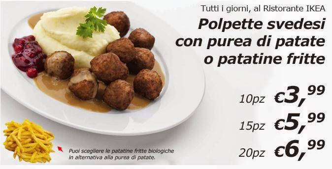 Menu E Prezzi Ristorante Nei Punti Vendita Ikea