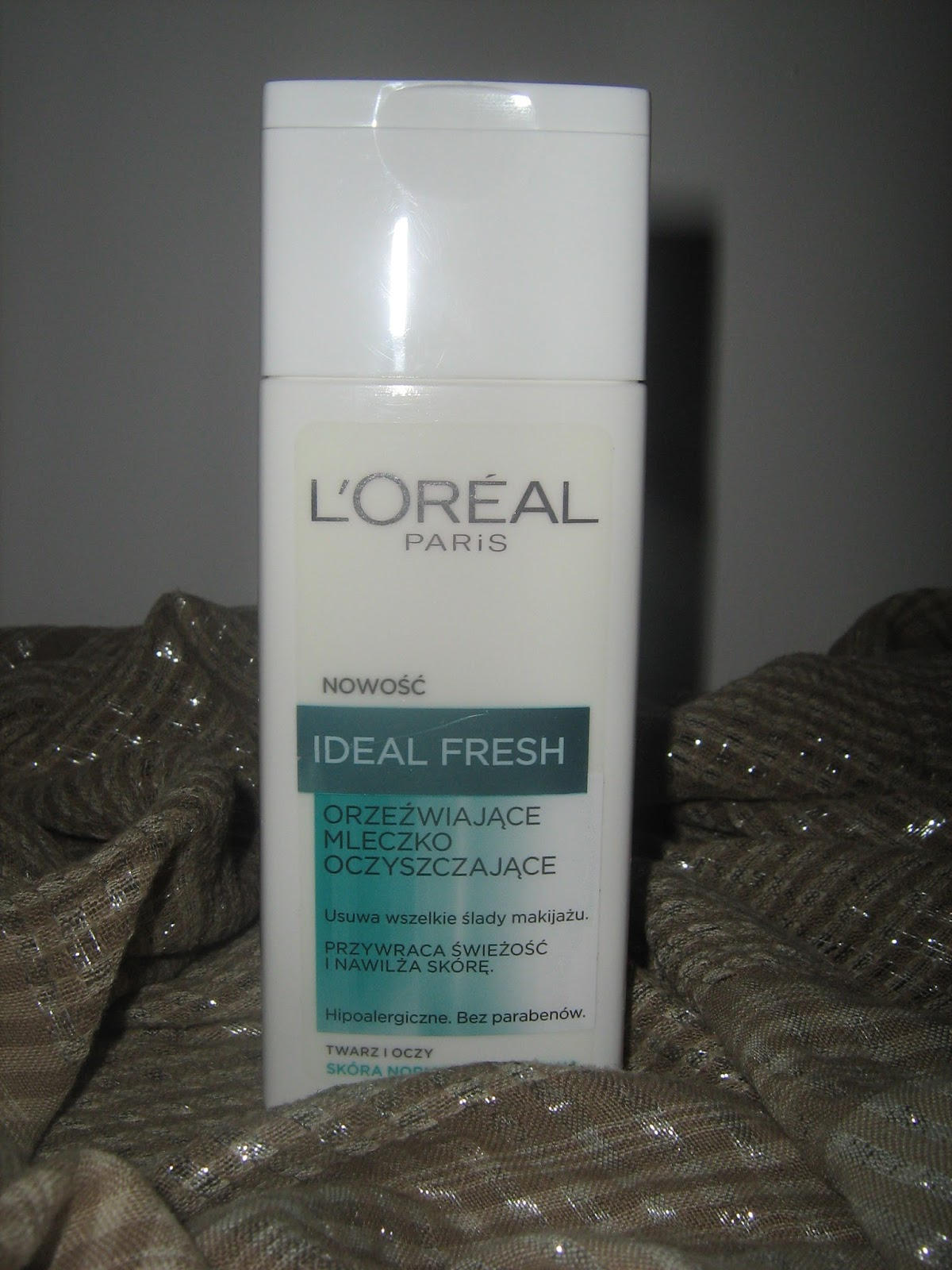Mleczko do demakijażu L'OREAL IDEAL FRESH