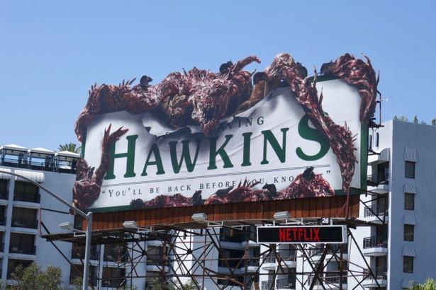 Stranger Things 3 monster billboard