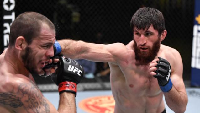 UFC Vegas 20: Adu Grapling, Jagoan dari Kampung Khabib Masih Lebih Jago dari Musuhnya