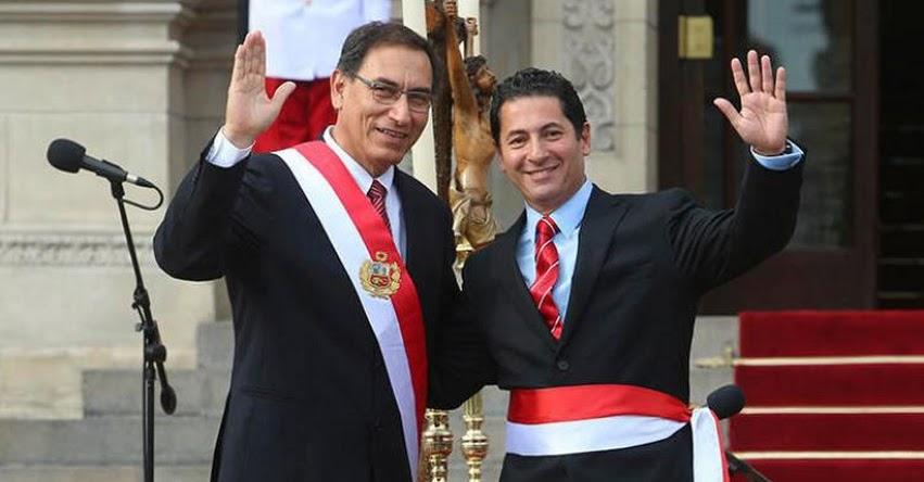 MINJUS: Saleh Carlos Salvador Heresi Chicoma juramentó como nuevo Ministro de Justicia y Derechos Humanos (2 Abril 2018) www.minjus.gob.pe
