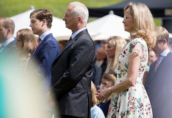Prince Hans-Adam II, Princess Marie, Hereditary Prince Alois, Hereditary Princess Sophie
