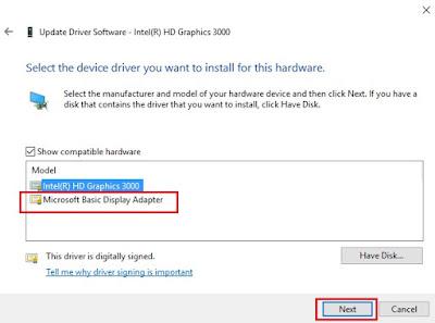 Intel Hd 3000 Graphics Driver Windows 10