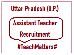 image : UP Assistant Teacher Recruitment 2020 @ TeachMatters