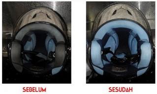 Kebersihan Helm Sering Diabaikan, ini Efek Bahaya Penggunaan Helm Kotor Bagi Kesehatan
