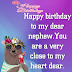 50+Birthday wishes for a nephew |Best birthday images , quotes and wishes |